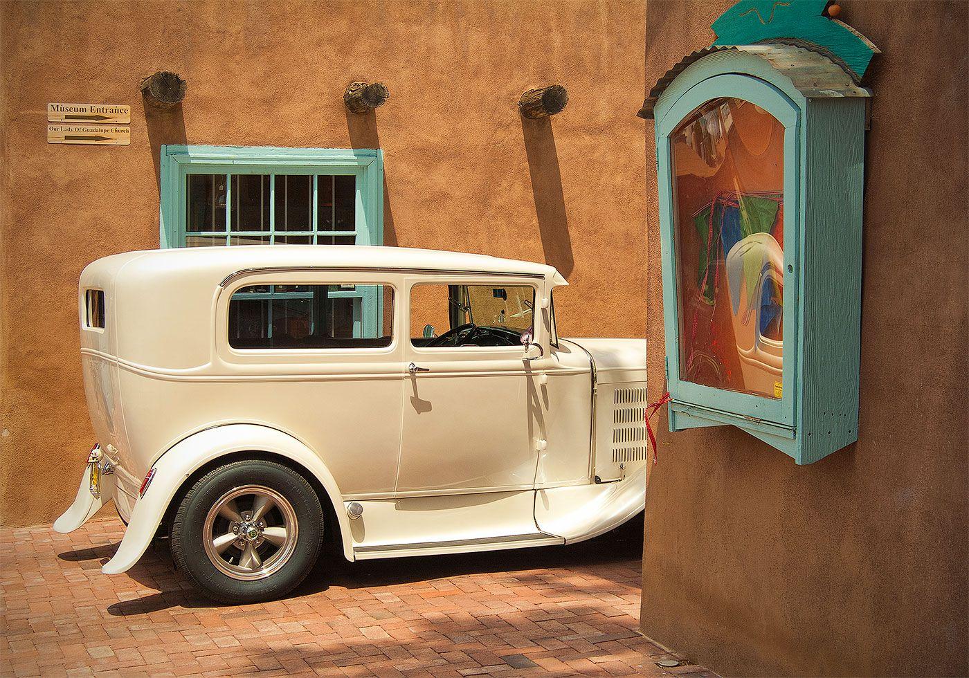 Old Town, Albuquerque, Classic Car | New Mexico Photos | Pinterest ...