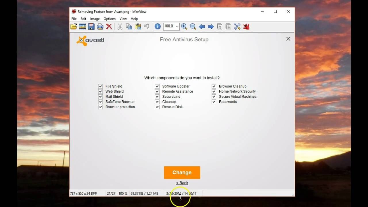 Removing Unwanted/Unused Modules in Avast | Tips, Tricks and
