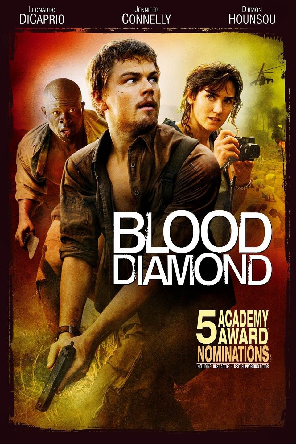 Blood Diamonds Libro Blood Diamond 2006 Best Movies Diamond Movie Leonardo