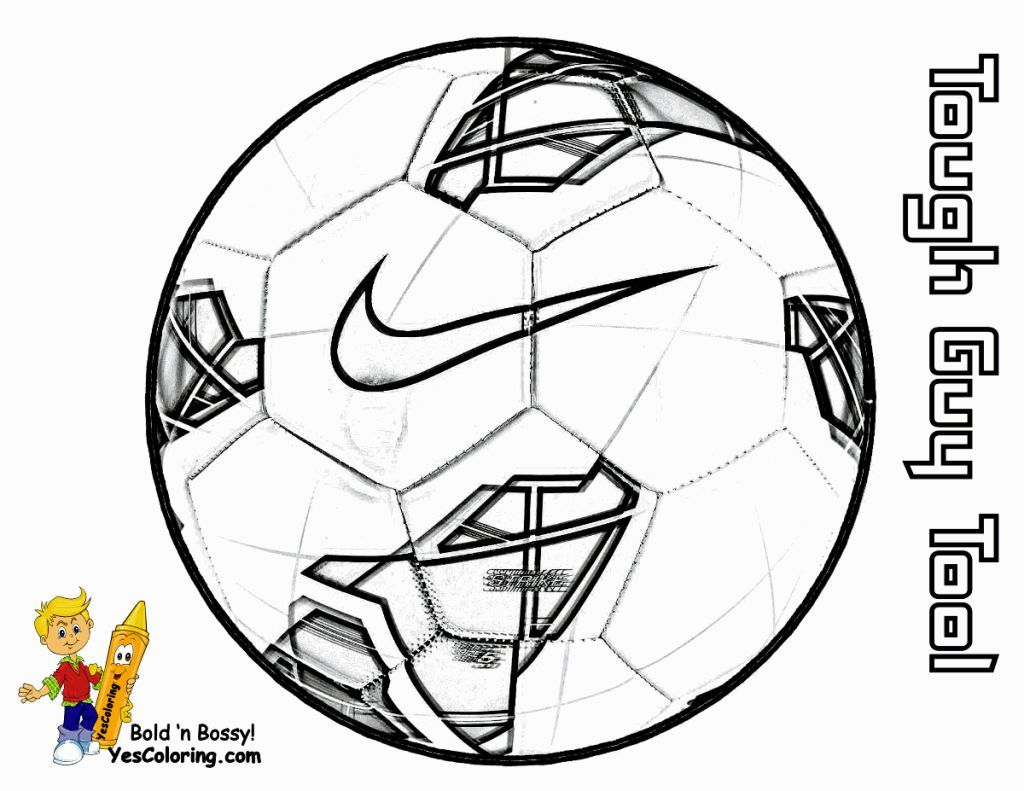 Soccer Ball Coloring Page | Fotboll | Pinterest