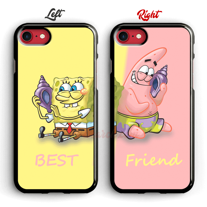 Like And Share If You Want This Best Spongebob And Patrick Best Friend Phone Cases For Iphone Buy One Friends Phone Case Bff Phone Cases Iphone Cases Cute