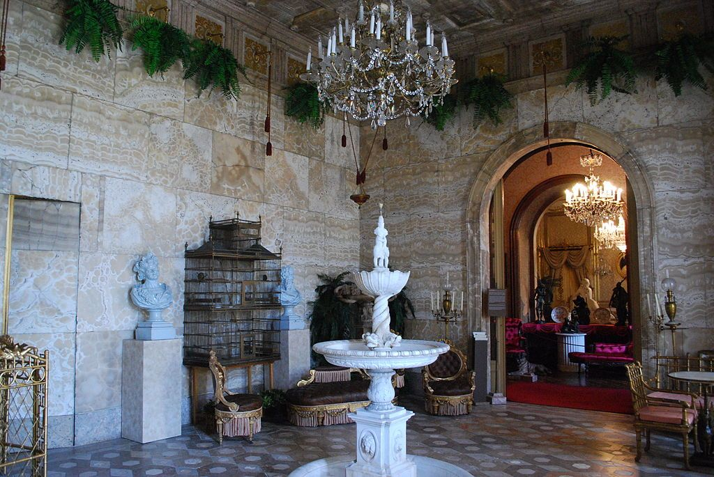 Marble Room of the Ajuda National Palace in Lisbon