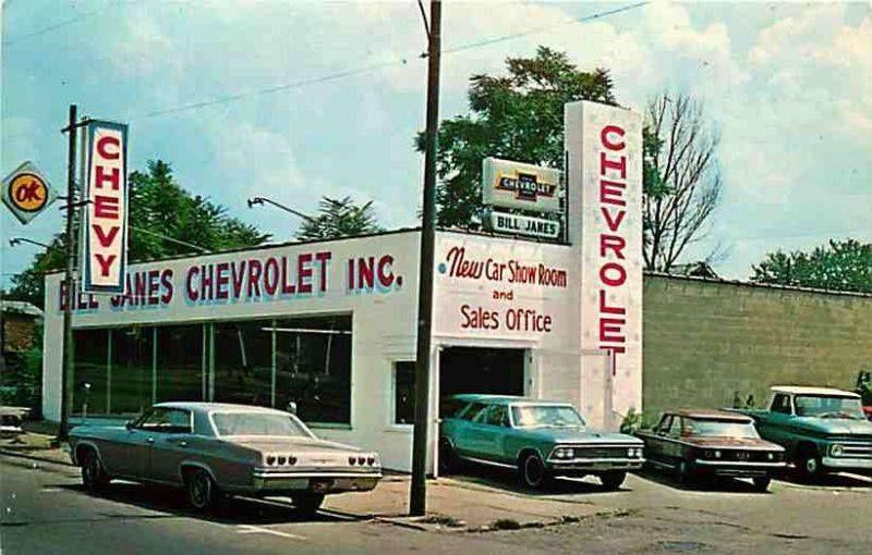 Chevrolet dealership image by Jan Schweikert on