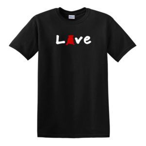 Love English Bulldogs Men's T-shirt