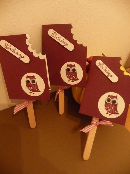 Verschenken Sie eine Grusskarte, die nicht jeder hat! Hier habe ich mal eine andere Einladungskarte für einen Kindergeburtstag gearbeitet. Man ka...