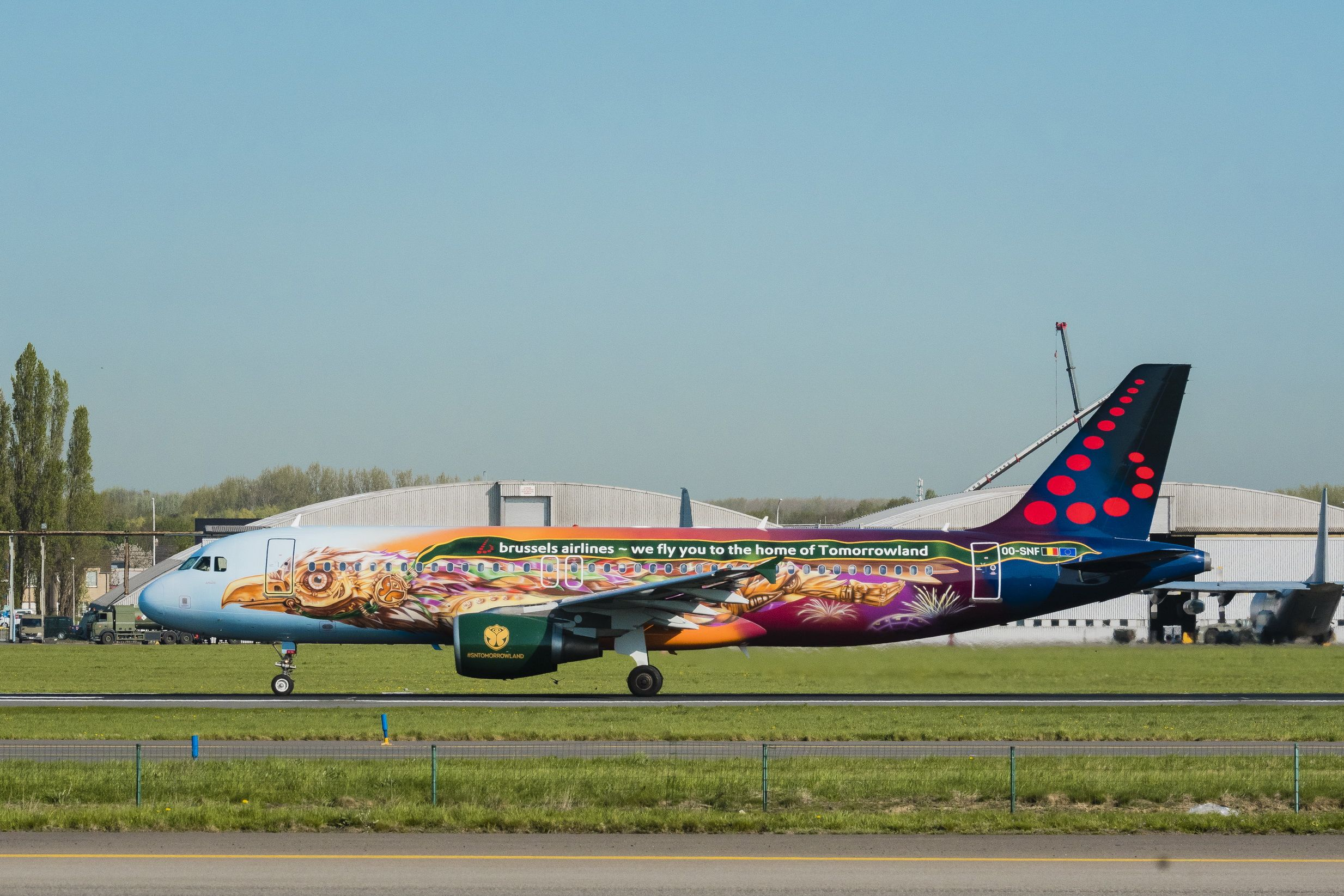 Brussels Airlines Airbus A320200 (Amare Tomorrowland)