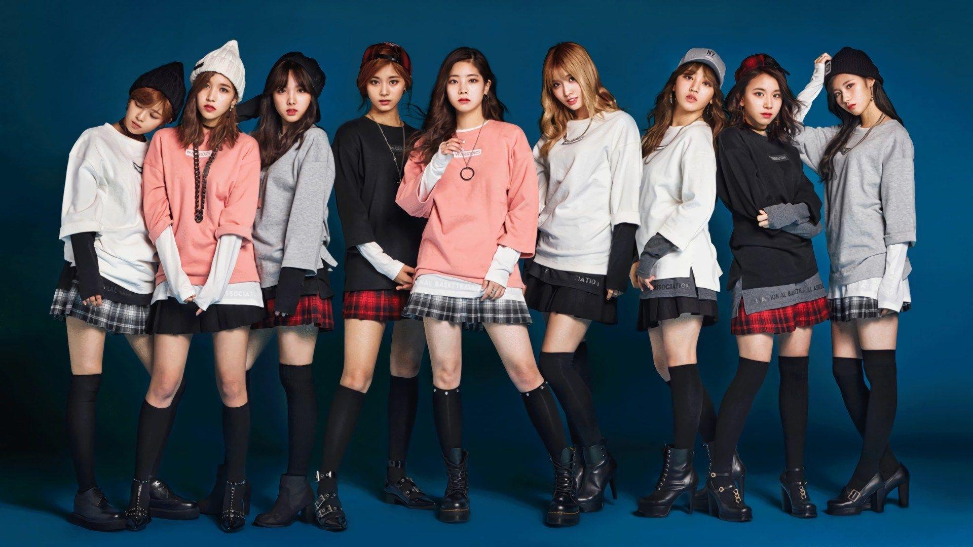 Twice Wallpaper Computer Desktop Kpop Girls Nba Fashion Twice Photoshoot
