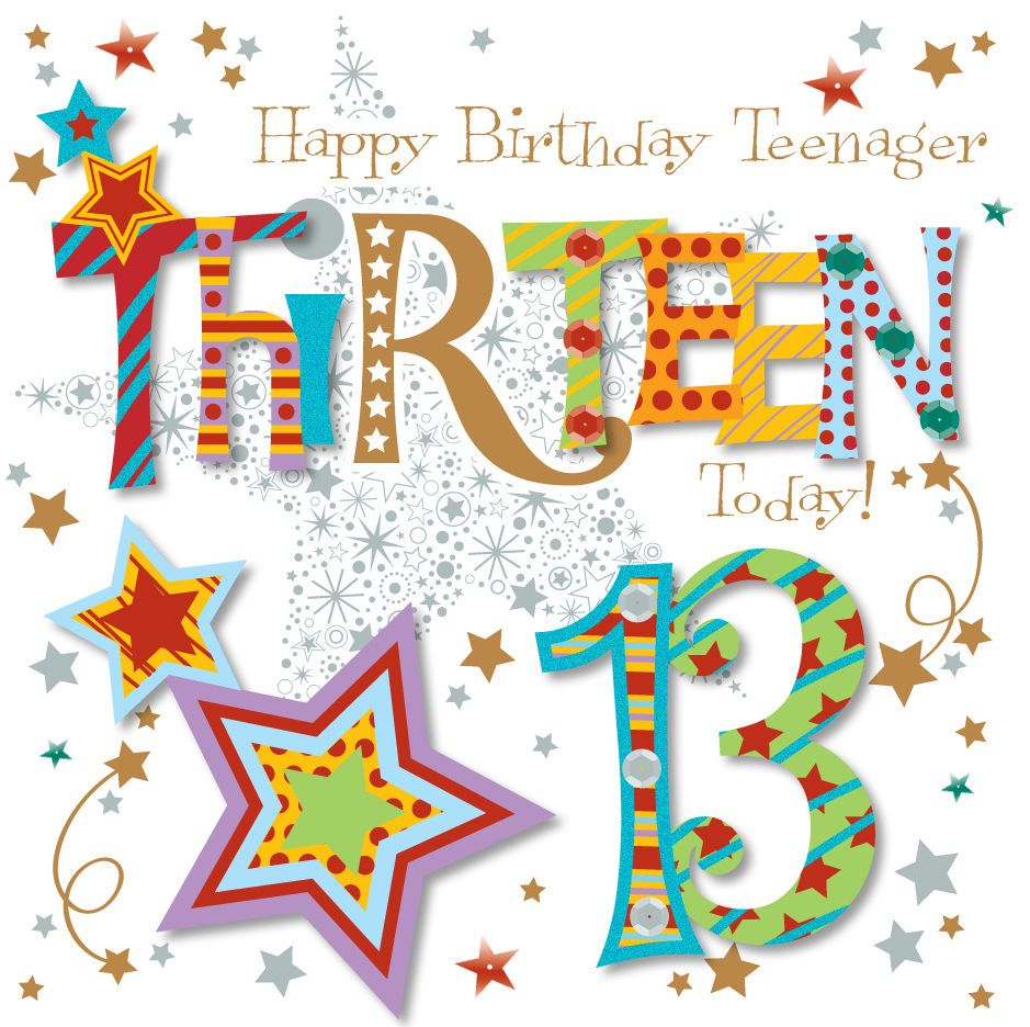 4 29 Gbp Thirteen Today 13th Birthday Greeting Card By Talking Pictures Greetings Cards Ebay Girl Birthday Cards Birthday Greetings Happy Birthday Teenager