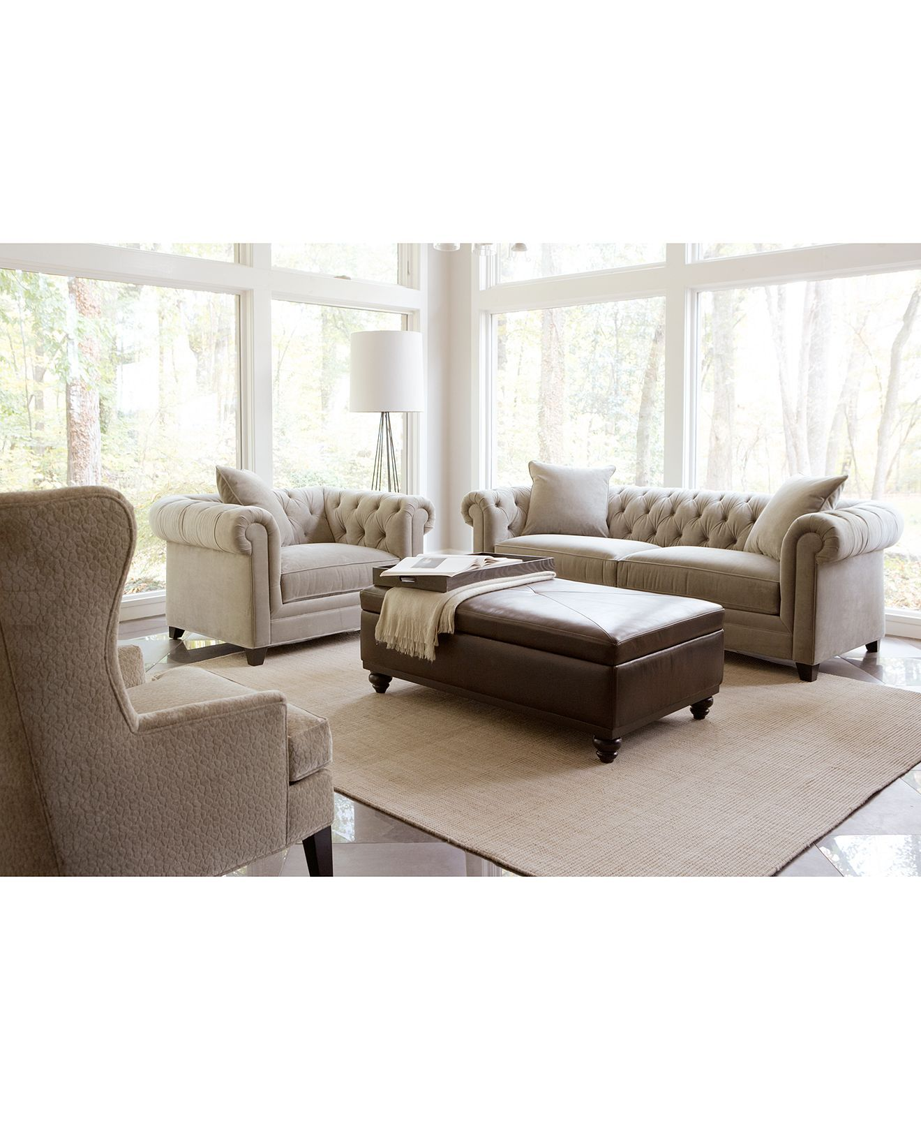 Saybridge Living Room Furniture Collection, Created For