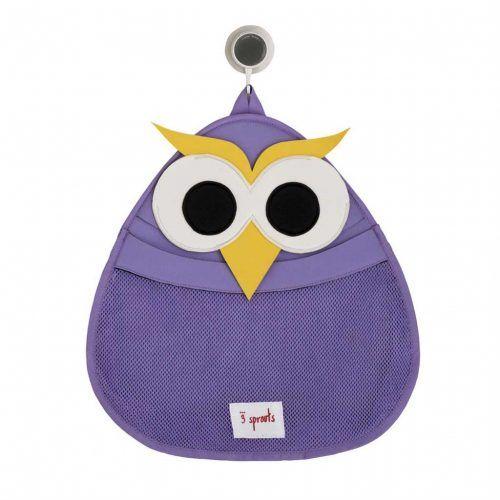 3sprouts-bath-storage-owl