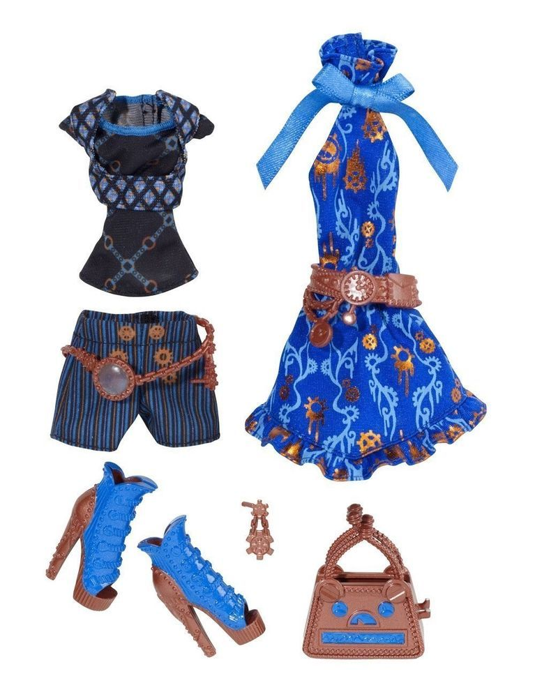 Monster high robecca steam fashion pack doll clothes new - Poupee monster high robecca ...