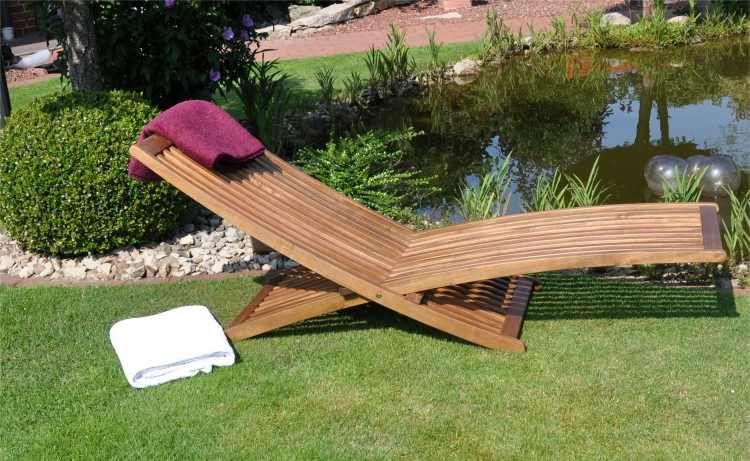 chaise longue design en bois | table | pinterest | méridienne et ... - Chaise Longue Jardin Bois