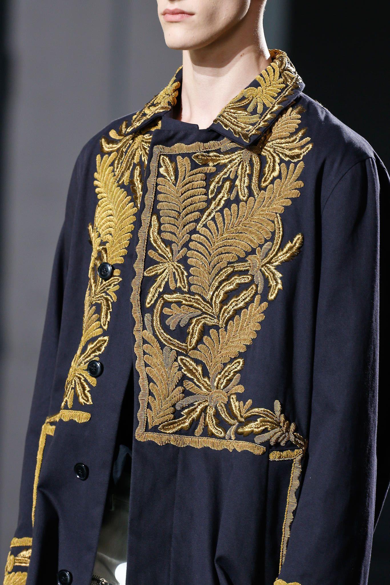 Dries Van Noten Spring 2014 Menswear Fashion Show Details