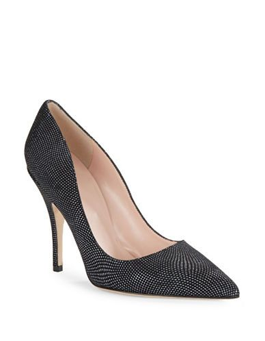d294d0c616a9 Kate Spade New York Licorice Pointed Toe High Heels Women s Black 9 ...