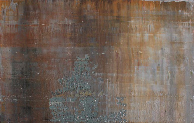 Koen Lybaert; Oil, 2012, Painting abstract N° 424