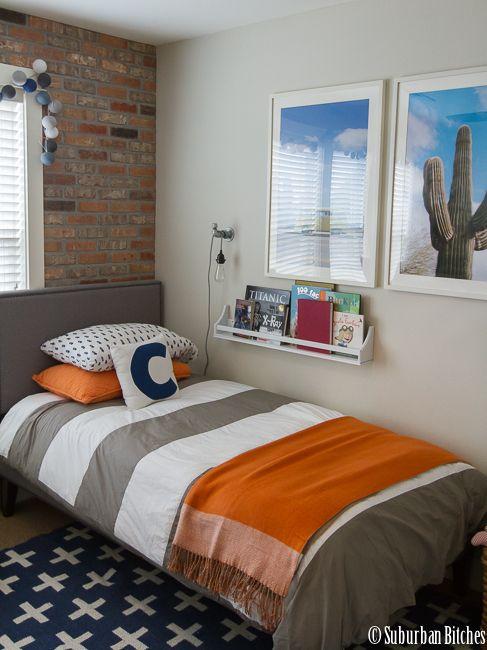A shared boys bedroom | Urban bedroom, Boy bedroom, Boys ...