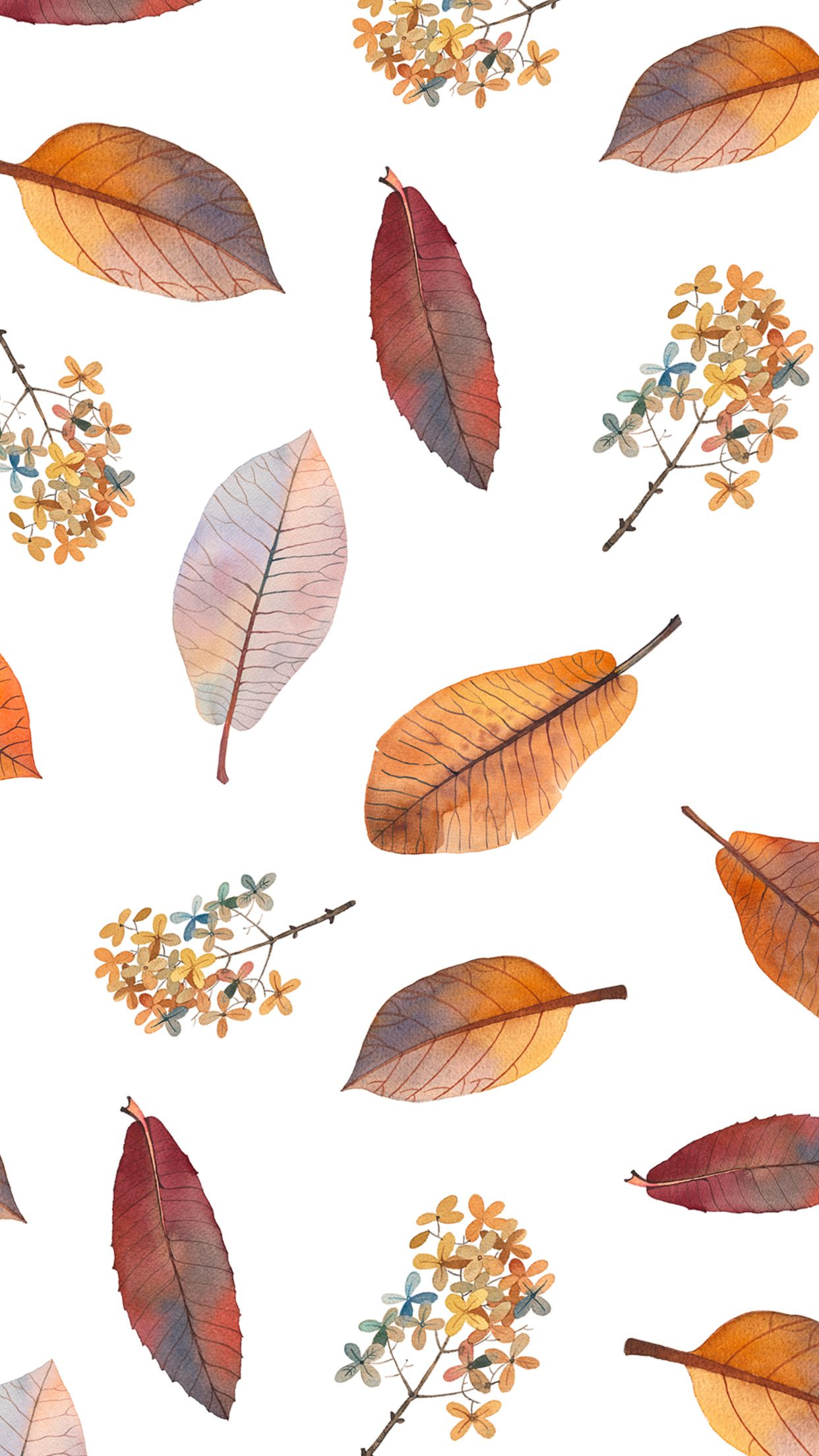 Pin By Fifty Jewels Side Hustle P On Watercolor Painting Wallpaper Fall Wallpaper Pattern Wallpaper