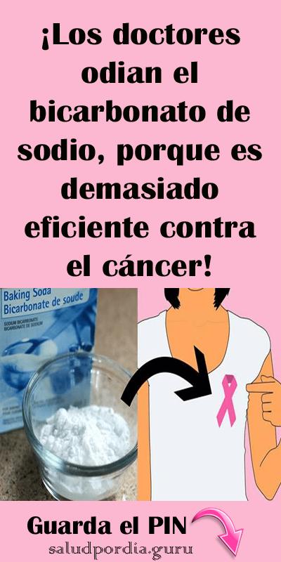 Los Doctores Odian El Bicarbonato De Sodio Porque Es Demasiado Eficiente Contra El Cáncer Salud Por Día Remedios Para El Cancer Remedios Caseros Para La Tos Remedios Caseros Hongos