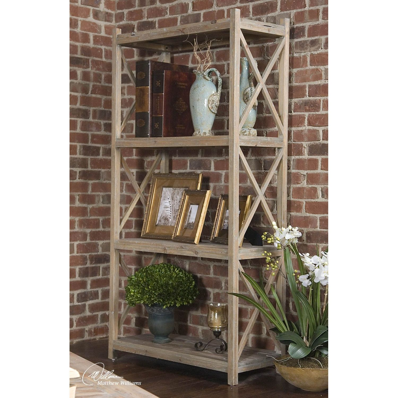 "Uttermost Stratford 78.75"" Bookcase"