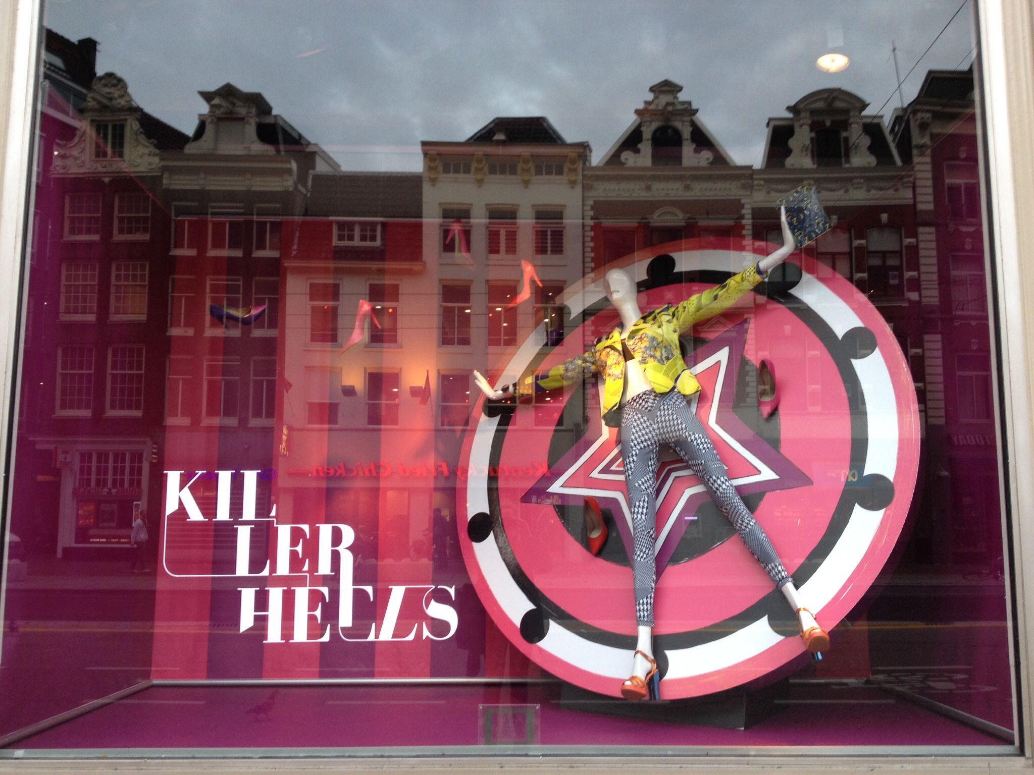 Amsterdam de Bijenkorf Fearless campaign april 2014