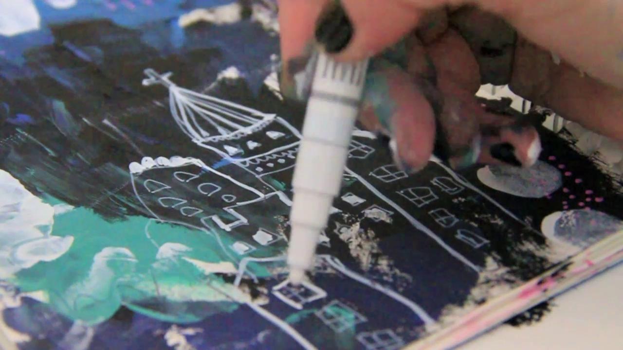 a peek inside my sketchbook on Vimeo