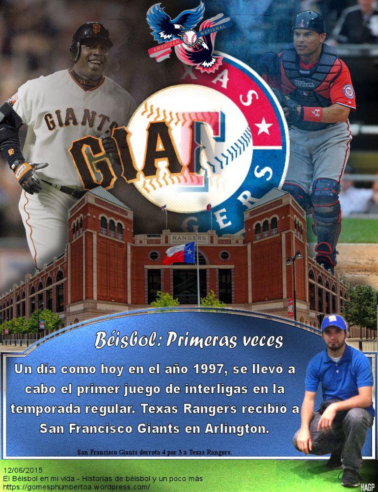 San Francisco Giants, Texas Rangers, Interleague, MLB
