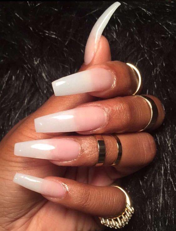 Allaboutalliana Coffin Nails Long Long Nails Nail Designs