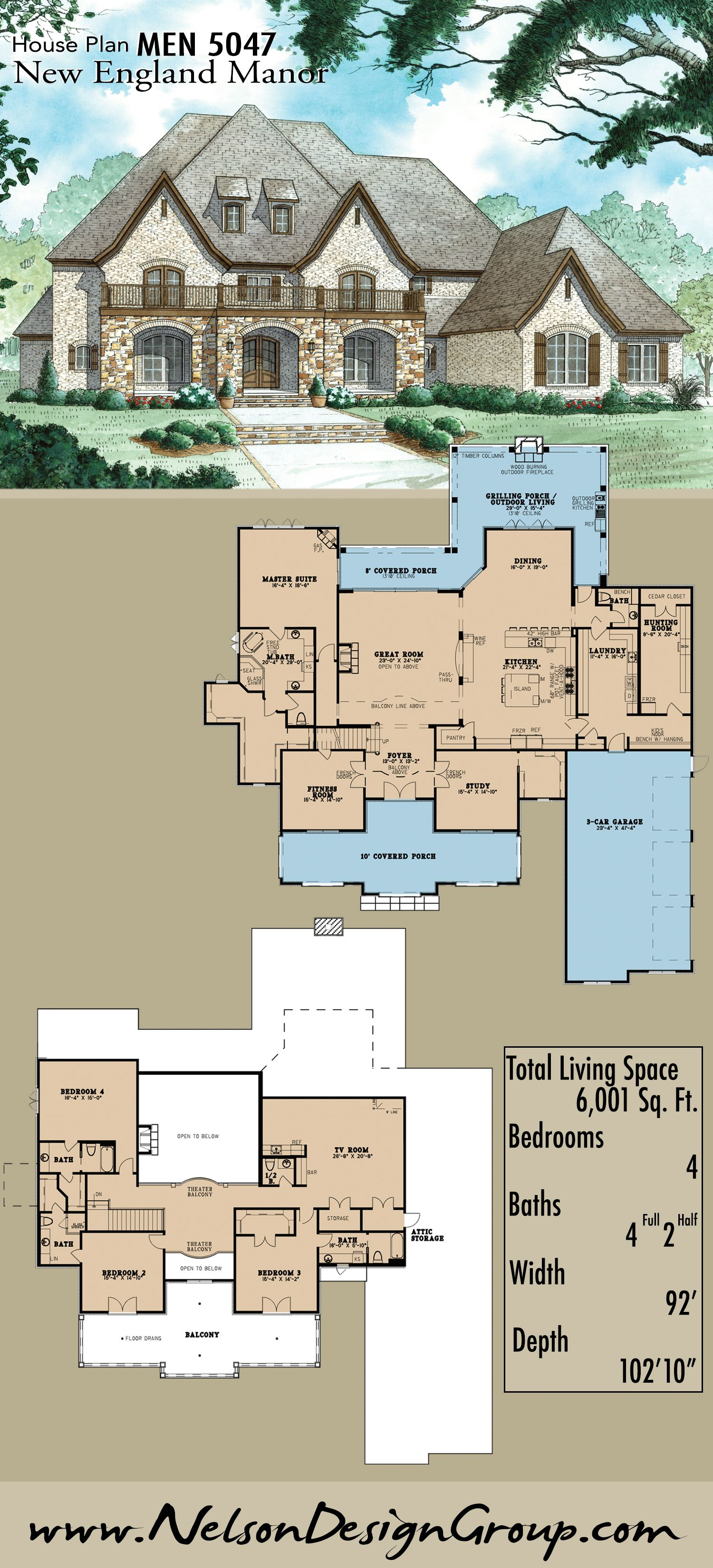 Cape Cod Style House Plan 61094 With 3 Bed 3 Bath Cape Cod House Plans New England Style Homes Colonial House Plans