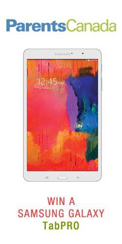 Win a Samsung Galaxy TabPRO
