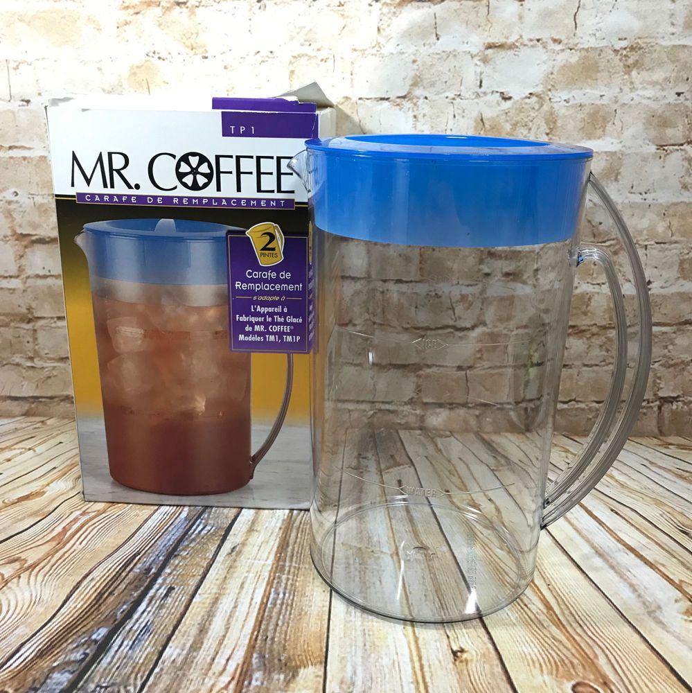 Mr Coffee Replacement Pitcher TP1 2 Quarts fits Iced Tea