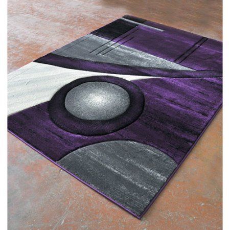 Rug Tycoon Purple Black Area Rug Area Rugs Black Area Rugs Purple Area Rugs