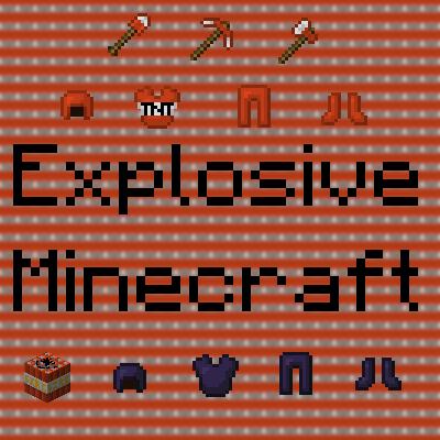 Explosive Minecraft Tnt Mod 1 14 4 1 13 2 1 12 2 1 11 2 1 10 2 1 8 9 1 7 10 Minecraft Modpacks All Minecraft Minecraft Mods Minecraft