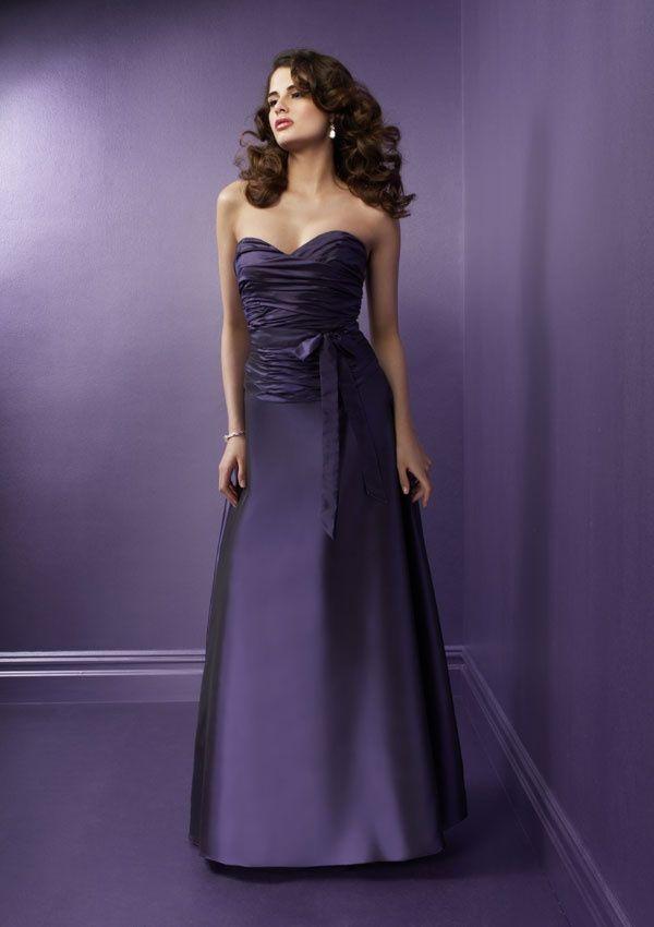 purple dresses | deep purple bridesmaid dresses | My purple things ...