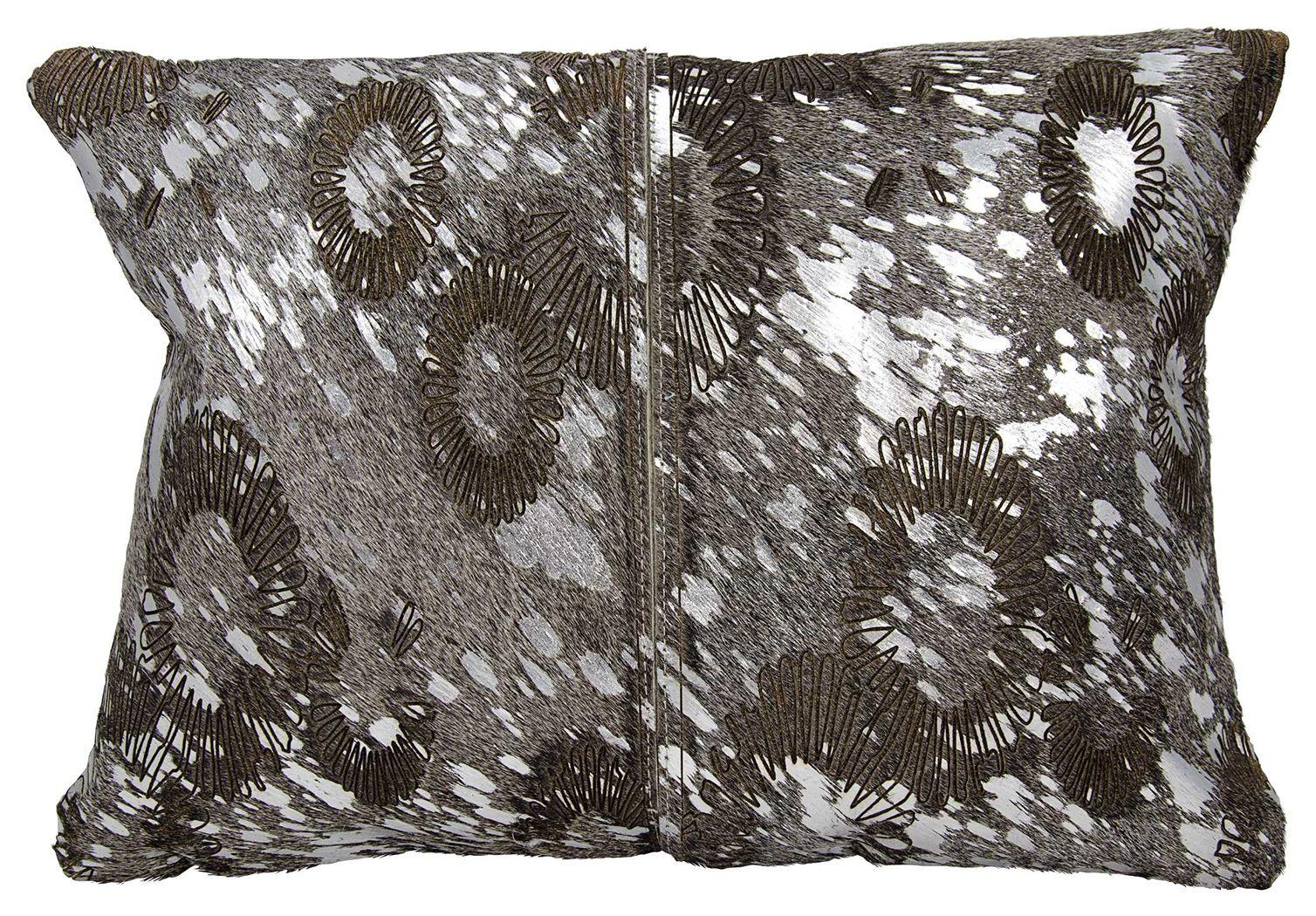 Modern Floral Laser Cut Couture Pillow