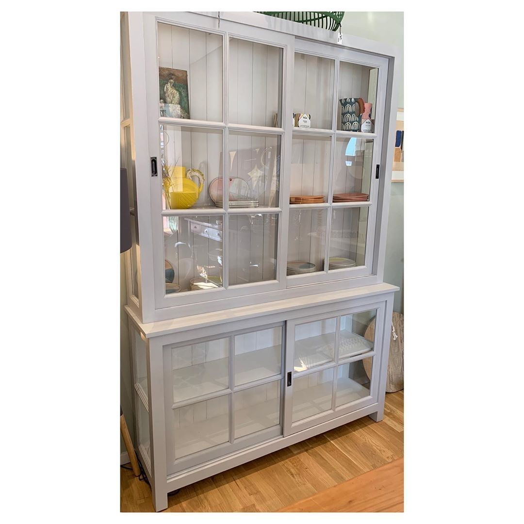 Today I want to present you one of my favorite vitrines in two sizes! You can customize it colourwise and store a lot inside! Its modern and looking very lightI show you all details in the shop!!! Come and stop by---#furniture