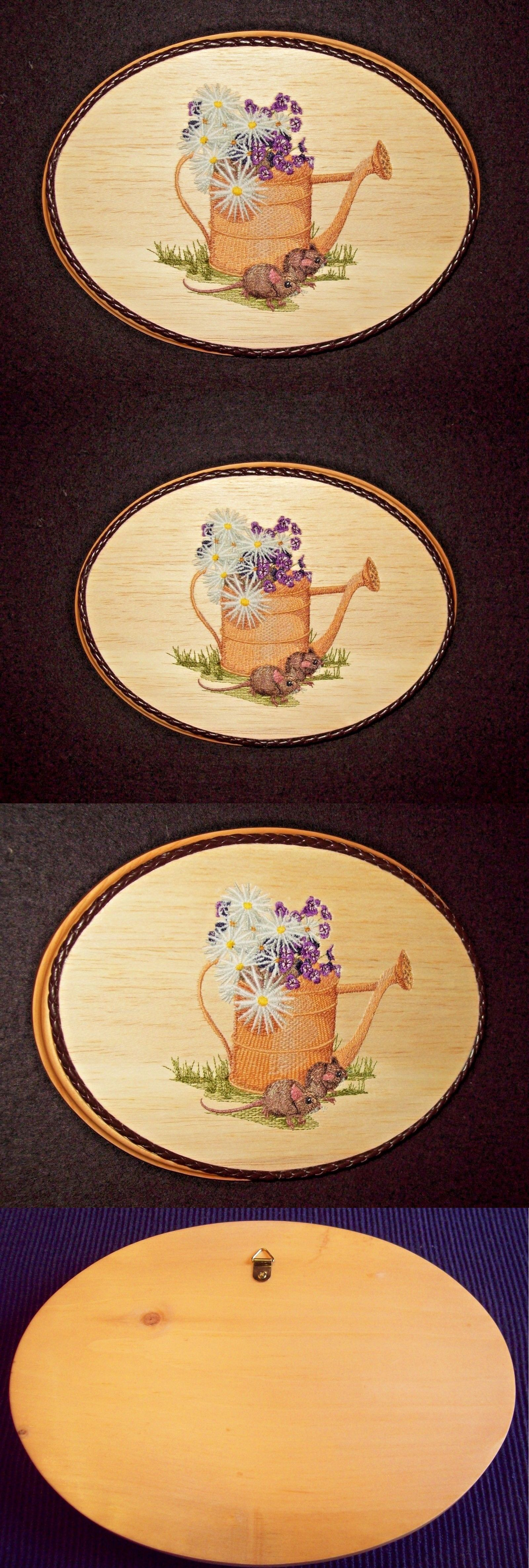 Wall Hangings 83904: Garden Watering Can Scenic Wall Decor Multi ...