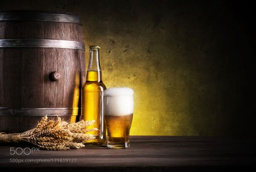 Glass of light beer with foam by madhunter7777777  IFTTT 500px