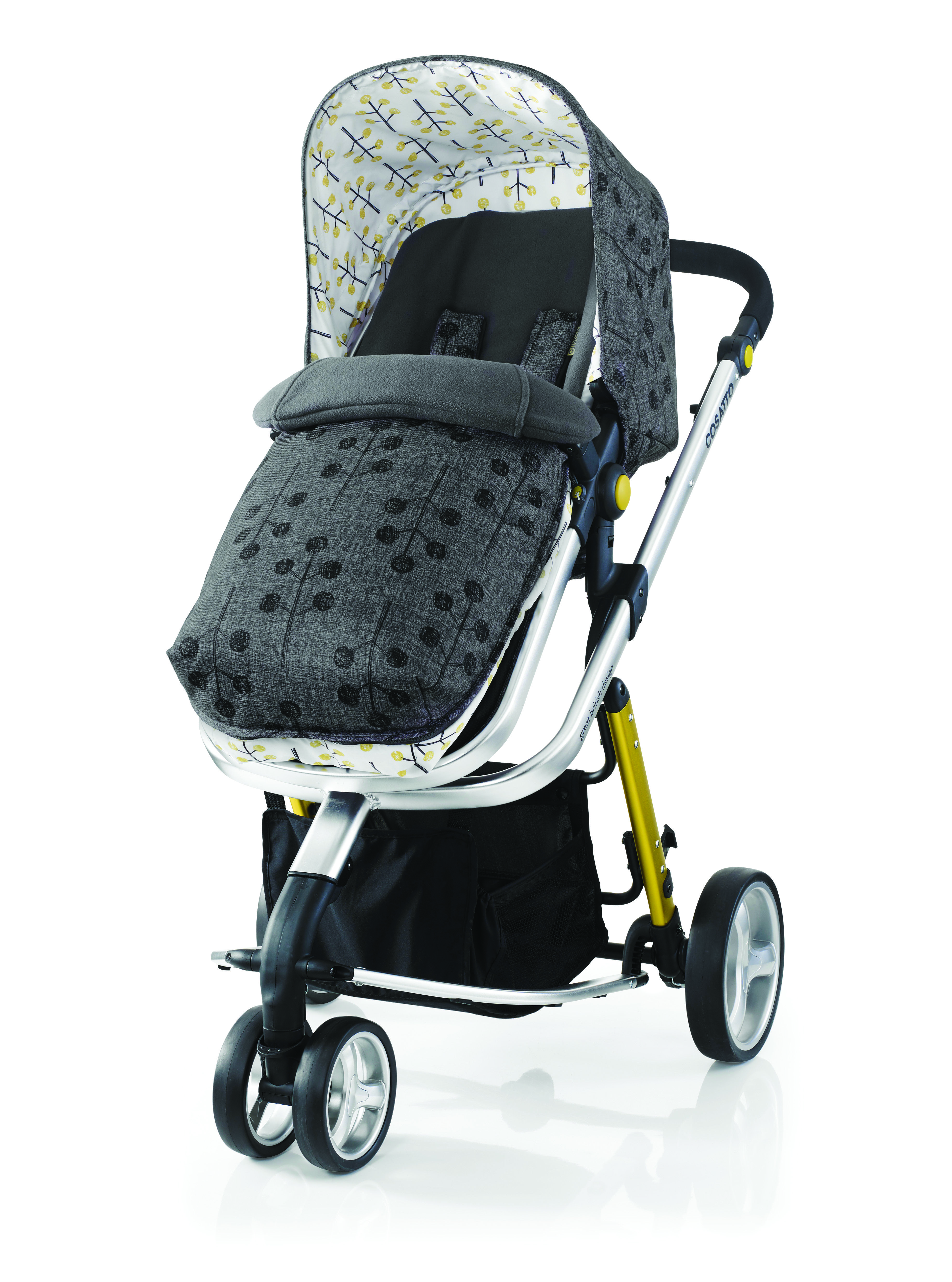 Mothercare exclusive Giggle 2 Pram and Pushchair in Pom
