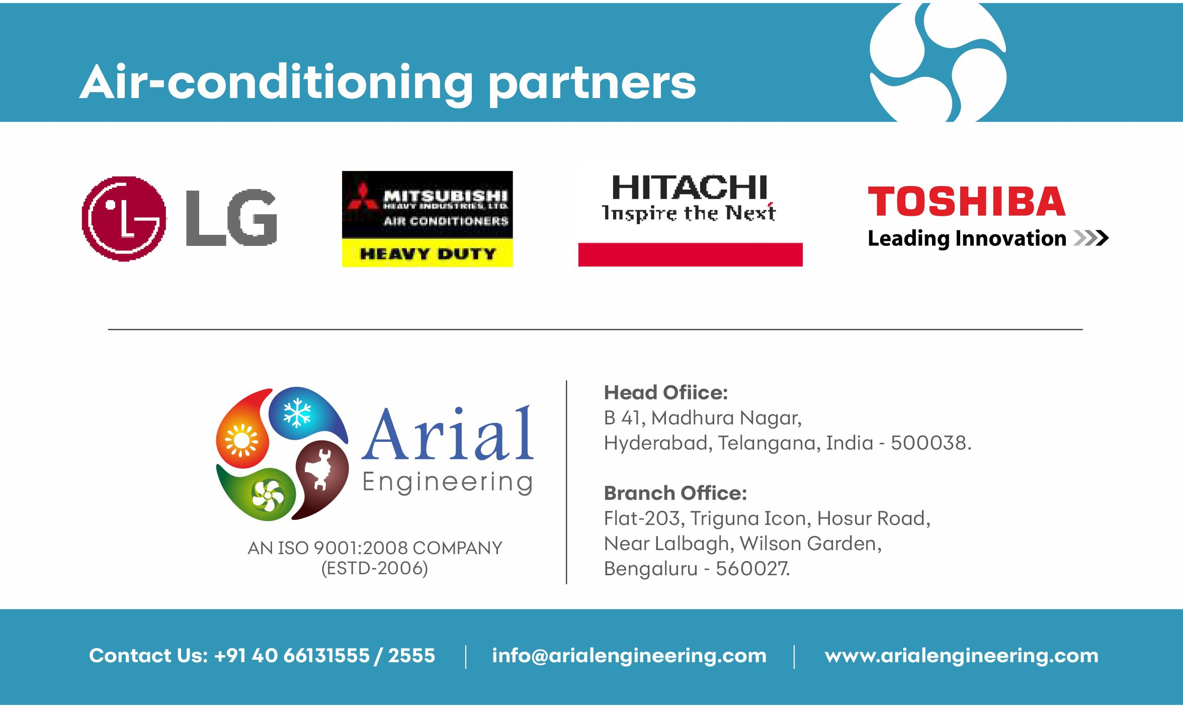 Our Air Conditioning Partners Hitachi Lg Mitsubishiheavy