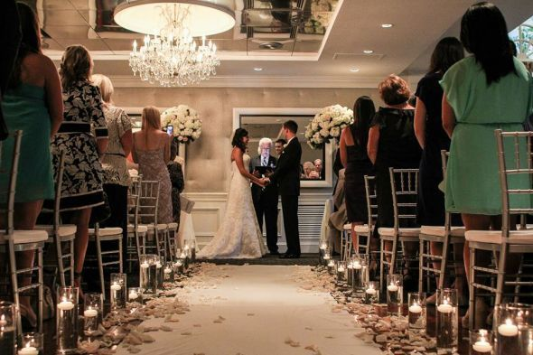 Indoor Or Outdoor Wedding Ceremony Some Facts To Help You: Cylinder Vases For Ceremony Isle