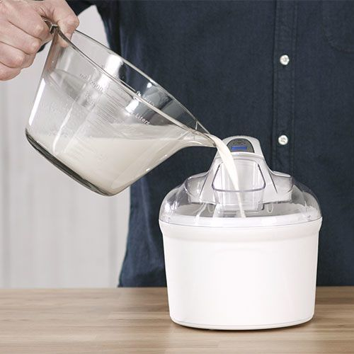 Basic Vanilla Ice Cream #icecreammaker
