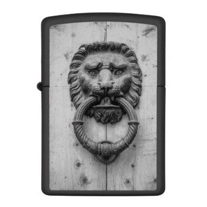 Lion Door Knocker Lighter   Metal Style Gift Ideas Unique Diy Personalize