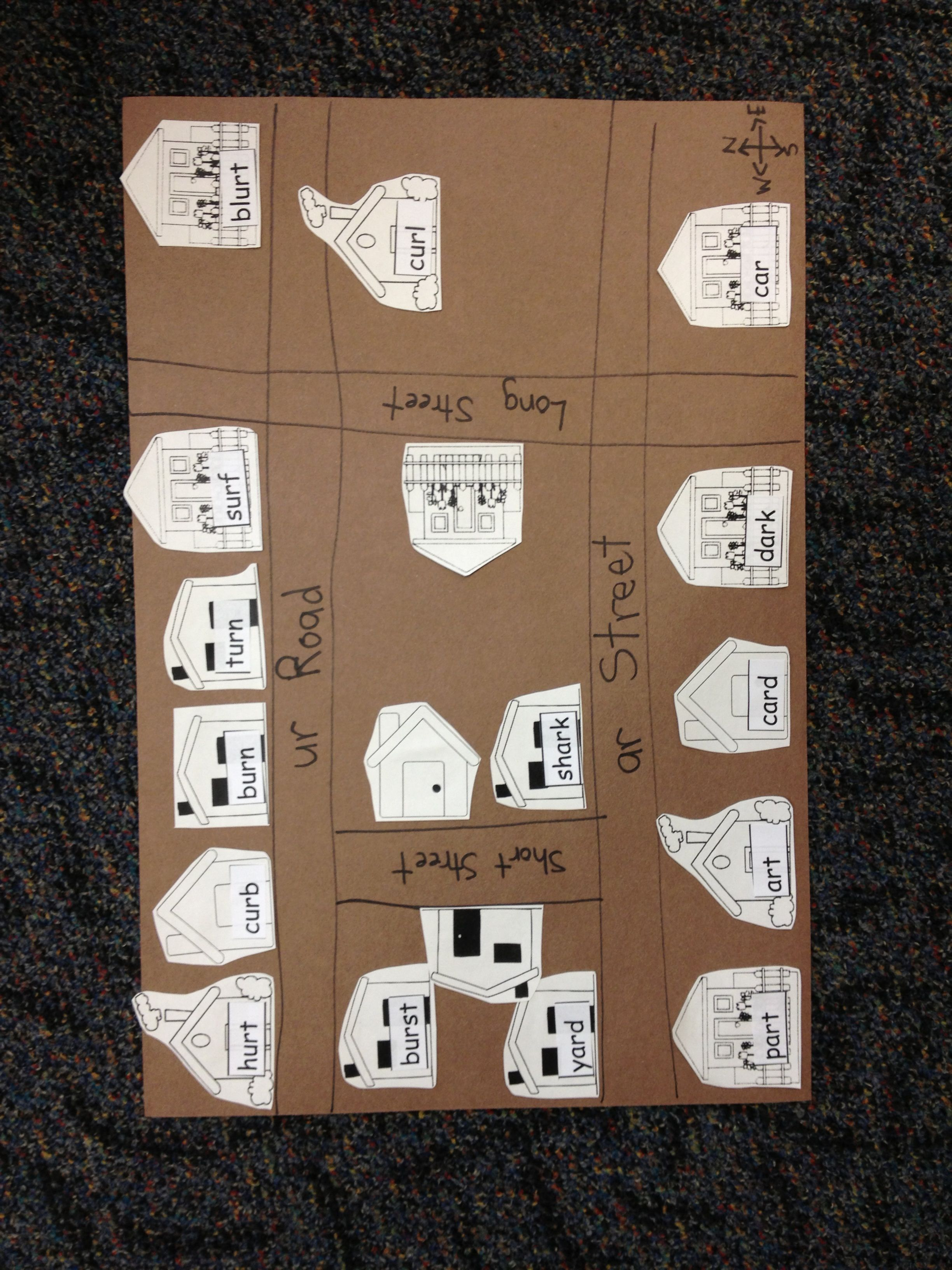 Teach Mapping Skills And Sort Spelling Words At The Same Time