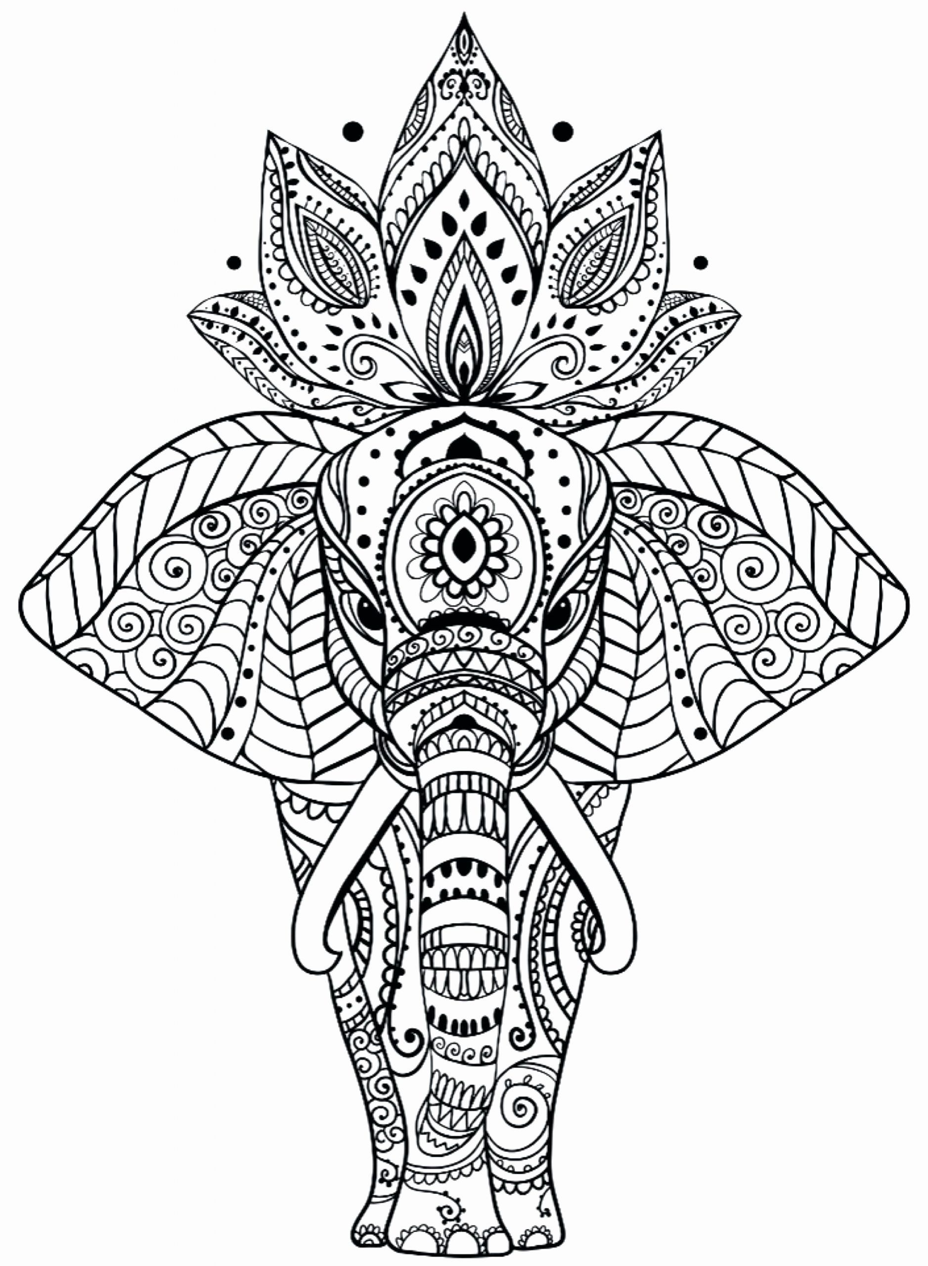 Animal Mandala Coloring Book Beautiful Animal Mandala Coloring Pages New Free Printable Home Mandala Coloring Pages Elephant Coloring Page Mandala Coloring