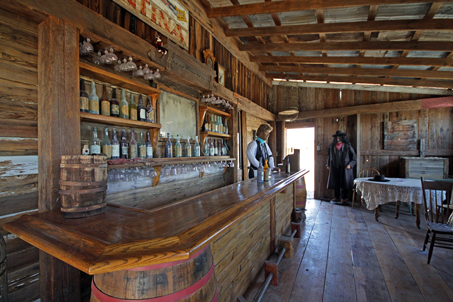 Rustic Man Cave Yuma : Saloon castle dome city landing ghost town yuma arizona