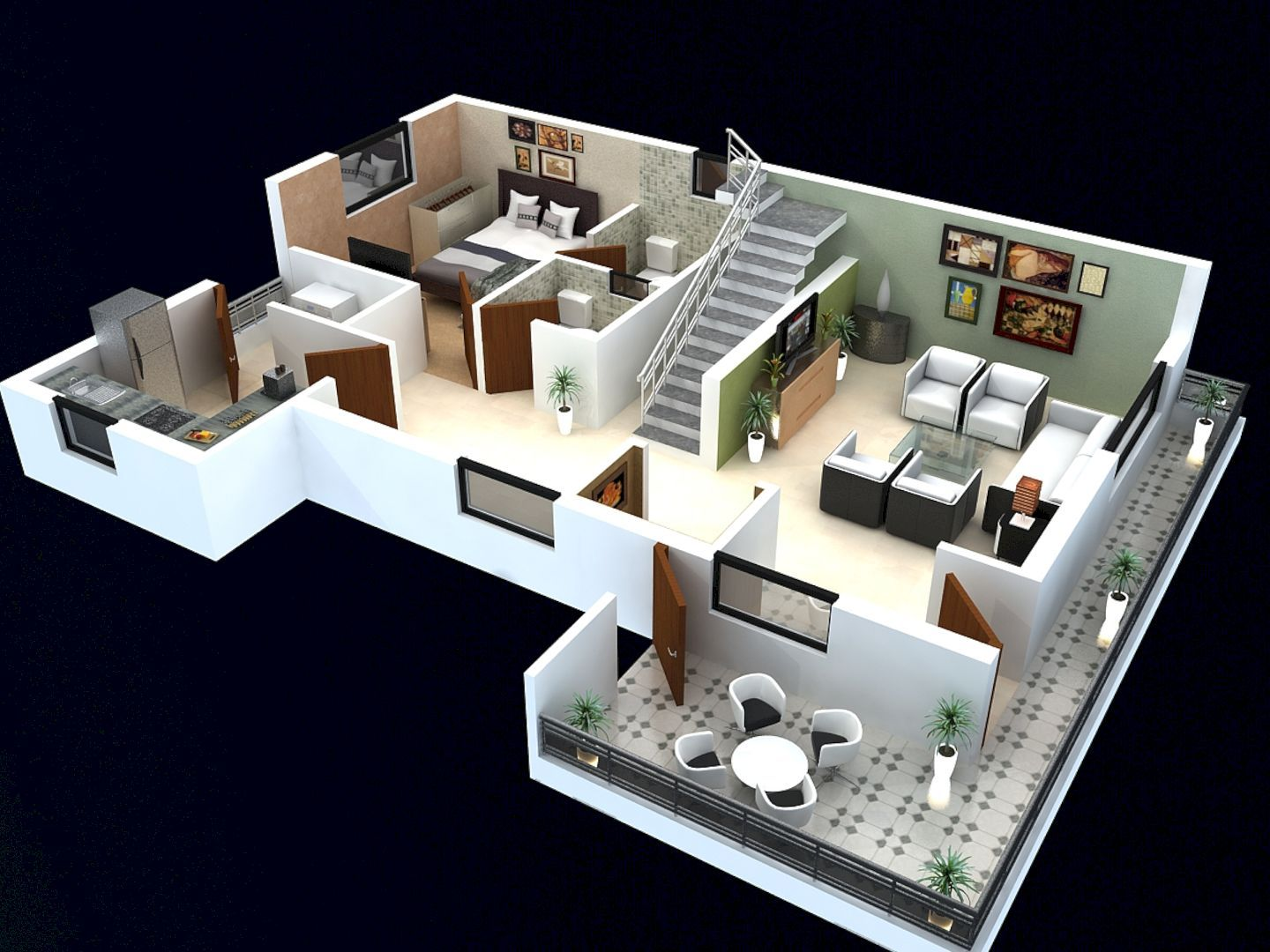 Why Do We Need 3d House Plan Before Starting The Project Modern House Floor Plans 2 Storey House Design Small House Design Philippines
