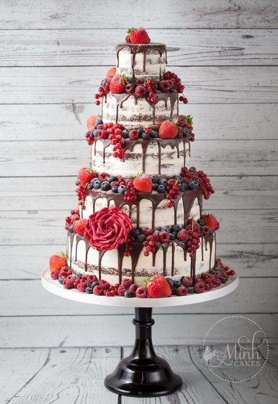 9 Beautiful Wedding Cake Ideas in 2018