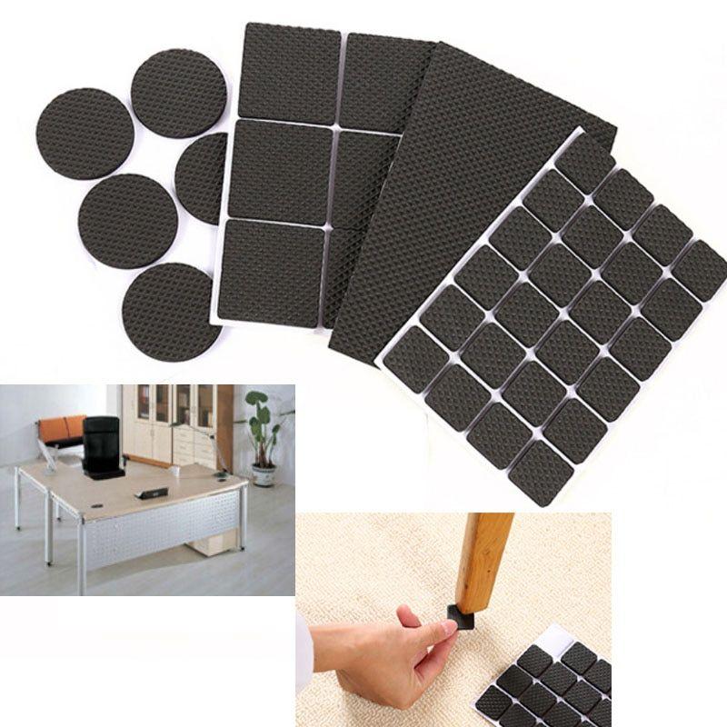 48pcs nonslip 10g self adhesive furniture rubber table