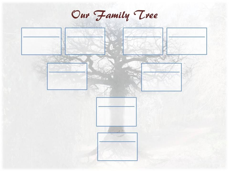 Editable Family Tree Template Father Line Coloring Pinterest