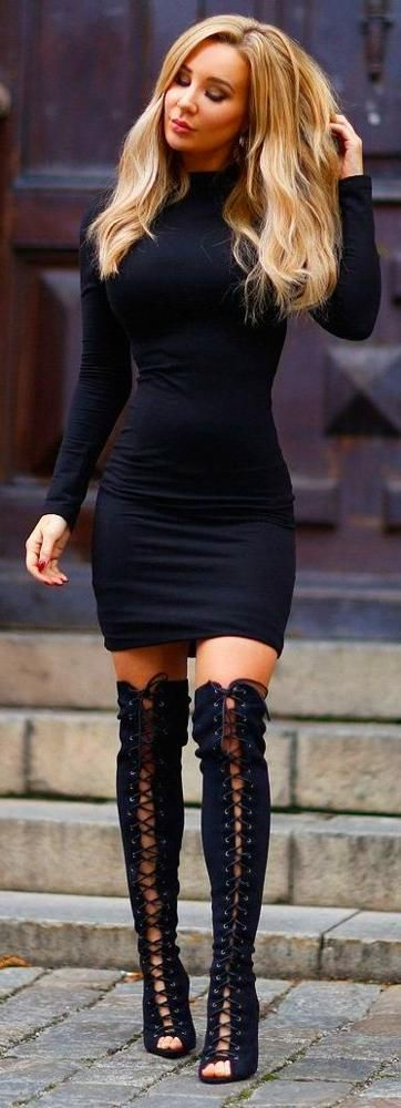 Winter Date Night Outfit -  Date Night Outfit Sexy Date Night #Outfits for Valen... #datenightoutfit